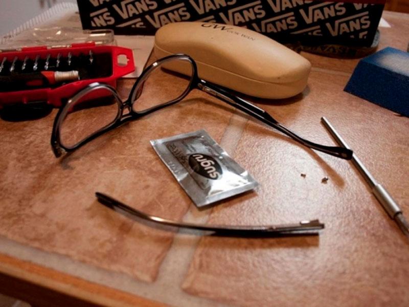 Arreglo express de gafas