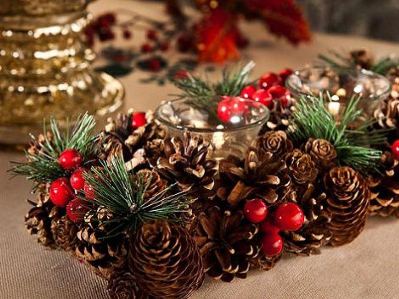 Centros Decorativos de Navidad