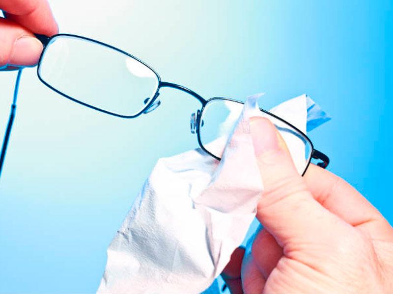 ¿Cómo limpiar las gafas?