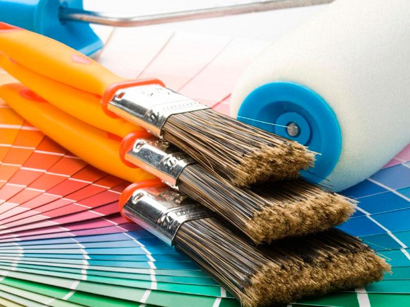 Cuidar las Brochas de Pintura