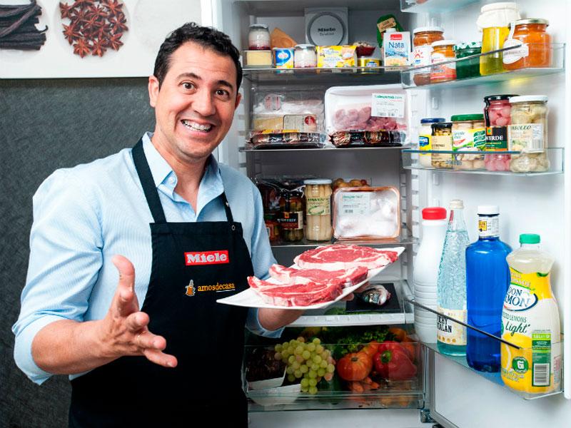 Las recetas del Rodríguez, como reaprovechar las sobras de la nevera con Pedro Caballero