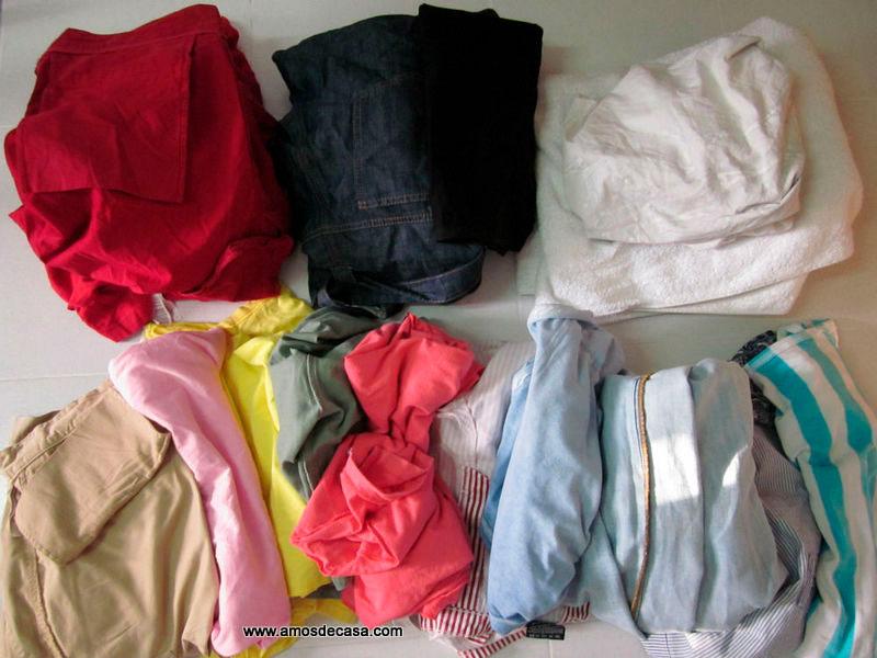 ¿Qué hacer antes de lavar la ropa?