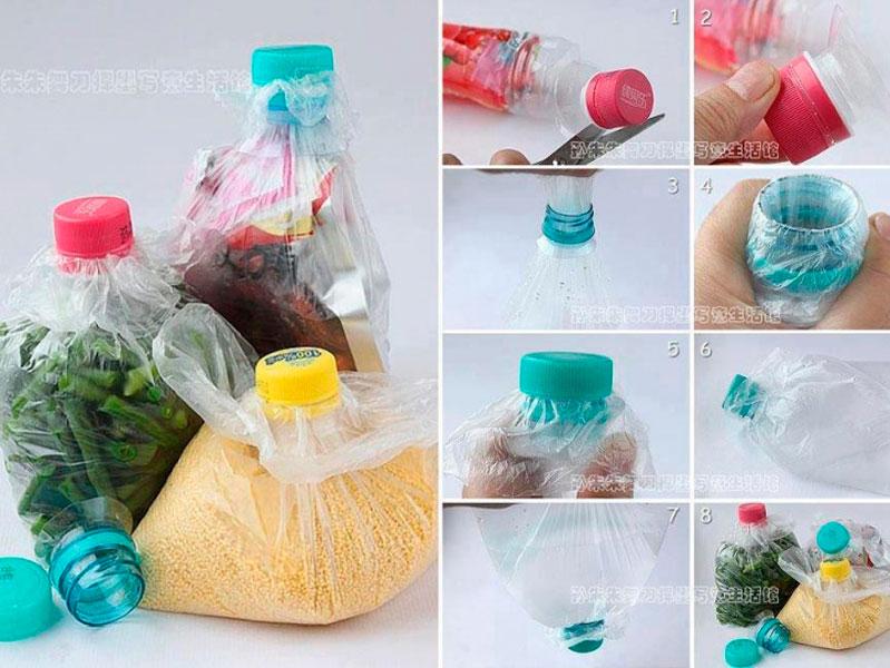 Reutilicemos las botellas de plástico